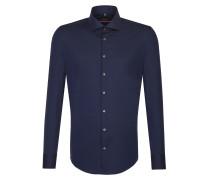 City-Hemd 'Slim' blau