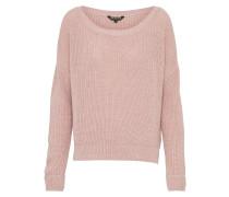 Pullover 'rib Core' rosa