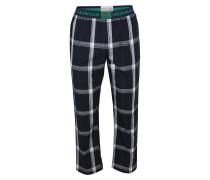 Pyjamahose nachtblau / weiß