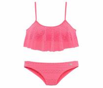Bustier-Bikini in Häkeloptik hummer