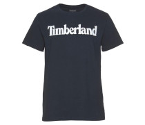 Shirt kobaltblau / weiß