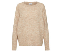 Pullover 'onlHANNA L/S Pullover Knt' sand