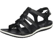Sandalen 'D Sandal Vega' schwarz / weiß