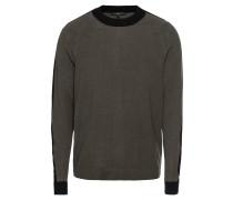 Pullover 'luan' grau / schwarz