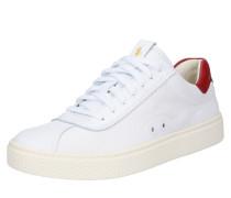 Sneaker 'Court 100' rot / weiß
