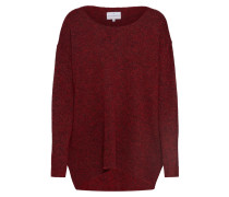 Oversized Pullover 'Mille' rot