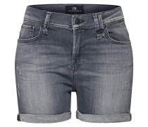 Jeans 'milena Bermuda' grey denim