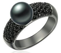 Ring dunkelgrau / schwarz