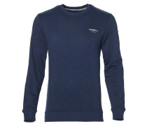 Sweatshirt 'Stay Out Longer' marine / weiß