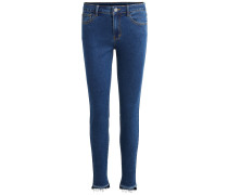 7/8-Skinny Fit Jeans blue denim