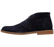 Wildleder Stiefel dunkelblau