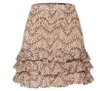 Rock 'rah RAH Skirt' beige