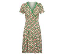 Kleid 'superheldinnen' grün / rot