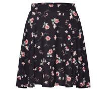 Rock 'floral Flippy' rosa / schwarz