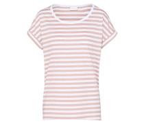 T-Shirt 'Dreamers' altrosa / weiß