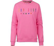 Sweatshirt 'Carly Carnival' pink
