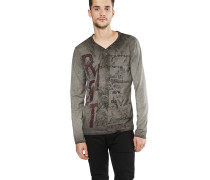 Langarmshirt 'mls Dark Riot button'