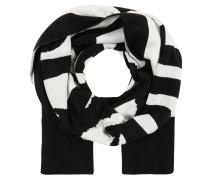 Schal 'gubo ' schwarz / weiß