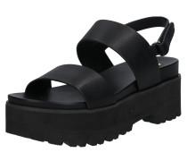 Sandale 'elita' schwarz