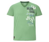 T-Shirt 'Kolbjorn' hellgrün