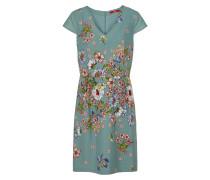 Kleid rauchblau / mischfarben