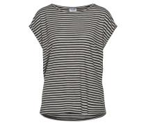 T Shirt grau / schwarz