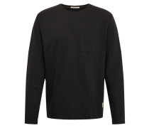 Shirt 'Rudi Pocket Tee' schwarz