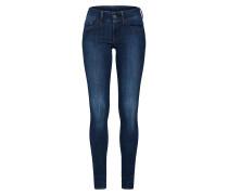 Jeans 'Lynn d-Mid Super Skinny' marine