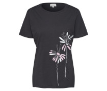 T Shirt 'Lida Big Flower'