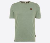 T-Shirt mit Biker-Details hellgrün