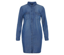 Kleid 'Chambray' blue denim