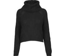 Sweater mit Turtleneck schwarz