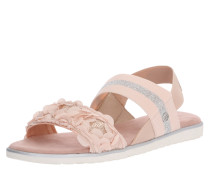 Sandale 'Joleen' rosé / silber