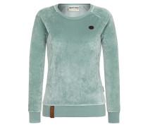 Female Sweatshirt 'Mackin da Hoes' mint