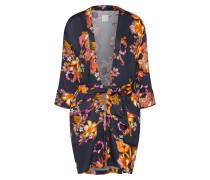 Kimono 'Inis' orange / schwarz
