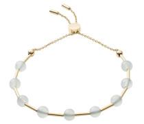 Armband 'Anette' gold / grau