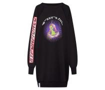 Sweatshirt 'f-Eyet' mischfarben / schwarz