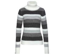 Pullover grau / weiß / schwarz