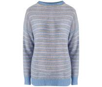 Pullover hellblau / pastelllila