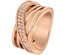 Ring 'Magic Passion' bronze / apricot