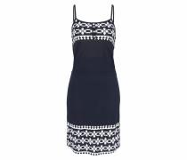 Kleid marine / weiß