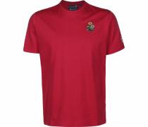 T-Shirt 'Fredonia' blutrot