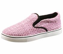 Slipper rosa / schwarz / weiß