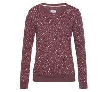 Sweatshirt mischfarben / pastellrot