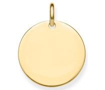 Kettenanhänger 'Coin Lbpe0016-413-12'