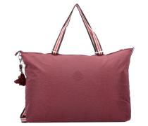 Schultertasche 'Basic XL Bag 18' karminrot