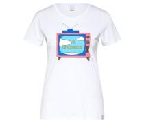 Shirt 'The ans Tee' weiß