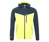 Sportjacke 'silvain' navy / gelb