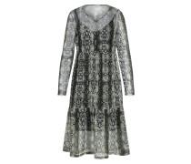 Kleid 'Lesly' pastellgrün / schwarz