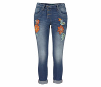 'p21Q' Boyfriend-Jeans blue denim
